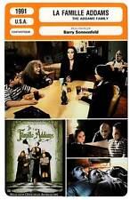 FICHE CINEMA : LA FAMILLE ADAMS - Huston,Julia,Lloyd,Ricci1991 The Addams Family