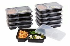 SET of 10 Reusable-Easy To Clean Lunch Kit Food Storage Containers for Adults