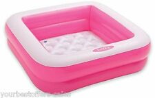 Baby Swimming Pool Inflatable Kids Pool Outdoor Living Intex Pool Brand New Pink