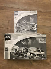 Lego 10001 Metroliner 10002 4547 Railroad Club Car New White Box Edition Sealed