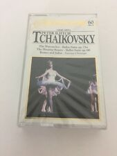 1840-1893 TCHAIKOVSKY CLASSICAL TREASURES MUSIC CASSETTE SEALED NUTCRACKER
