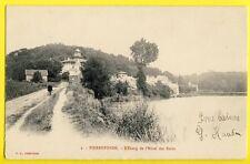cpa PIERREFONDS (Oise) L'ETANG de L'HOTEL des BAINS Pub Beurre Pierre FORTIN