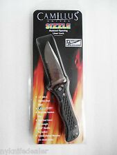 Camillus SIZZLE Robo Knife Assist Open sizzler Satin Finish Part Serrated