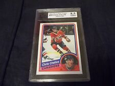 1984-85 OPC O-Pee-Chee #259 Chris Chelios Rookie Montreal Canadiens KSA 8.5 NMM+