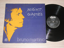 BRUNO MARTINO - NIGHT GAMES - LP 33 GIRI ITALY