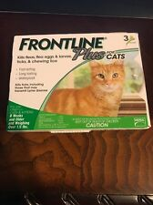 New Frontline Plus Flea And Tick Control For Cats  3 Months