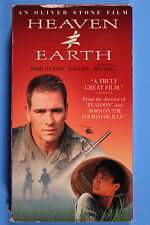 Heaven and Earth -  Tommy Lee Jones, Oliver Stone Movie, VHS, Vietnam War