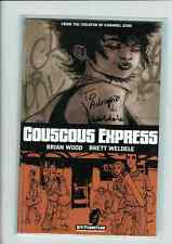 COUSCOUS EXPRESS Brian Wood Signed by Brett Weldele  Channel Zero