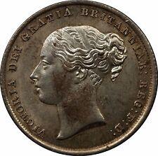 1842 Victoria Silver Shilling Coin Victoria (1837-1901)