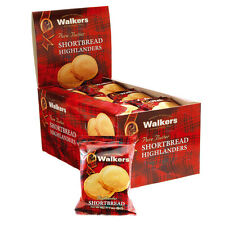 WALKERS SHORTBREAD HIGHLANDER Original / Twin pack 24PC/BX FREE Shipping