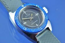 Vintage Retro Electra Divers Swiss Wind Up Watch NOS New Old Stock Circa 1960s