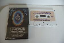 STEVEN HALPERN K7 AUDIO TAPE CASSETTE SPECTRUM SUITE EXTENDED PLAY. RARE!