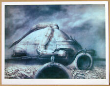 DUNE Print by Giger  Signed limited edition   Archival paper.