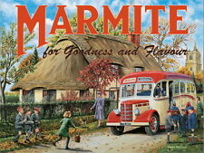 Marmite, Cottage Classic Bedford Coach, Advertising Gift, Novelty Fridge Magnet