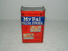 Copyright 1930s My Pal Polish Powder Home Cleaning New Old Stock Brooklyn NY