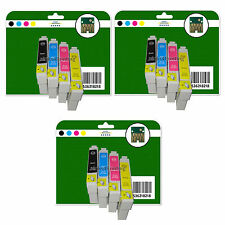 Any 12 Ink Cartridges for Epson SX218 SX400 SX405 SX410 SX415 non-original E711