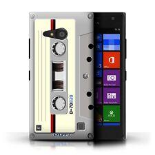 STUFF4 Case/Cover for Nokia Lumia 735/Retro Tech/Compact Cassette Tape