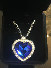 Titanic Heart of the Ocean Necklace with Gift Box