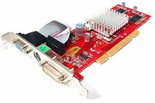 NEW ATI Radeon 9200 128mb Computer Graphics Adapter PCI Low Profile DVI S-Video