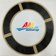 45 Feet BLACK Car Auto Door Edge Guard Protector Molding Door Trim Strip Fit