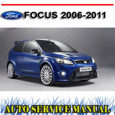 FORD FOCUS 2006-2011 WORKSHOP SERVICE REPAIR MANUAL ~ DVD