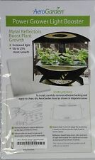 AeroGarden POWER GROWER LIGHT BOOSTER mylar Light reflector 4 Indoor Garden kit