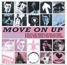 MOJO Move On Up 15-trk CD The Jam Dexys Yardbirds Aaron Neville Curtis Mayfield