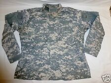 ACU Combat Uniform Shirt Coat Large Long Military Issue Ripstop 50/50