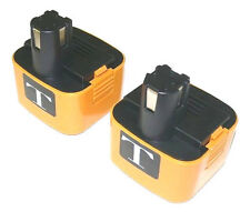 2 NiMH 12V 3.0Ah Batteries for Panasonic EY9101 EY9108 EY9200 EY9200B EY9201B
