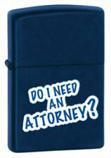 Zippo 28063 'Do I Need An Attorney' Lighter, New in Box