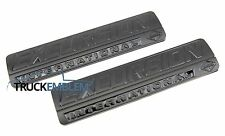 2 NEW CUSTOM MATTE BLACK FORD 7.3L 6.0L POWER STROKE EXCURSION BADGES EMBLEMS