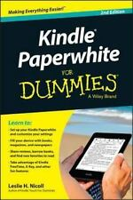 Kindle Paperwhite For Dummies, Nicoll, Leslie H., Acceptable Book
