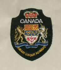 Canada Amari Usque Admare Embroidered Sewn World Travel Patch Free Shipping USA