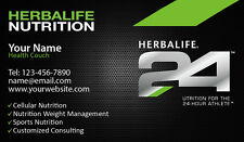 1000 Herbalife Business Cards-Customized-Nutrition 24 Formula English or spanish