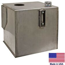 Hydraulic Reservoir - 30 GALLONS - Integral Brackets - Stainless Steel