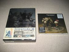 Final Fantasy XII 12 Limited Edition -  XI 11 Piano Collections Soundtrack
