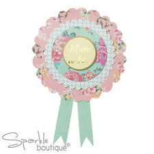 MAMMA-To-Be Rosetta-badge/Baby Shower accessori-FULL veramente Baby gamma in negozio