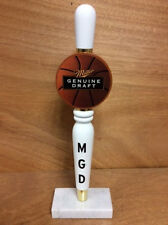 Miller Genuine Draft Basketball MGD Beer Tap Handle! - Brand New NOS Free Shipn!