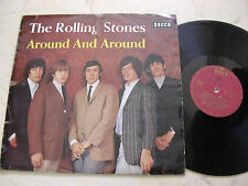 THE ROLLING STONES Around And Around *GERMAN WEINROT GOLD DECCA BLK16315-P*