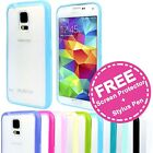 Soft Silicone Gel Matte Back Cover Case for Samsung Galaxy S5 SV 4G G900I i9600
