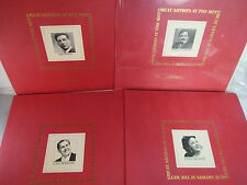 Great Artists at the Met, Caruso, Milanov, Bjoerling, Pinza Albums, LP MINT