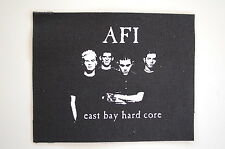 "AFI Cloth Patch Sew On Badge  Punk Rock Music Approx. 5""X4"" (CP14)"