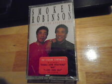 SEALED RARE OOP Smokey Robinson CASSETTE TAPE Double Good Everything MIRACLES !