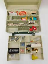Rebel Tackle Box Filled With Fishing Supplies Lot 270