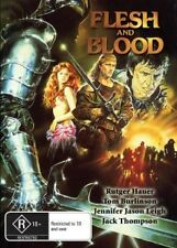 FLESH AND & + BLOOD - RUTGER HAUER - CLASSIC NEW DVD