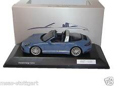 Porsche 911 Targa 4S Exclusive Design Edition blau Spark 1:43 WAX02020028 neu