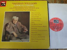 SLS 5082 Vaughan Williams Choral Music / Willcocks / Boult 7 LP box HP LIST