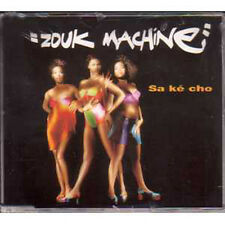 MAXI CD Zouk Machine Sa ke cho 4 tracks jewel case ~~~~