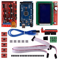 3D Printer Set RAMPS 1.4&Mega 2560&LCD 2004 RepRap Prusa i3&5pcs A4988 Tool Kit