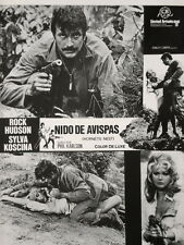 Guía Publicitaria / Press-book: NIDO DE AVISPAS - Rock Hudson, Silva Koscina -